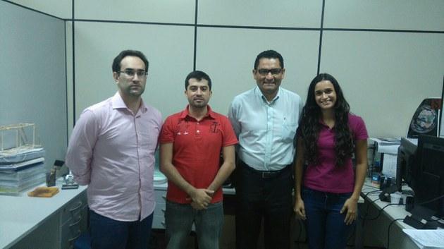 Direção e Membros da Equipe da UFAL