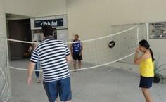 Desafio de casais no badminton