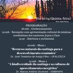 ESTUDOS DA CAATINGA - O bioma Caatinga: Desafios e perspectivas para a região semiárida e o sertão alagoano
