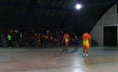 Partidas da etapa final do futsal