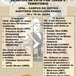 """II Seminário do OBELUTTE: """"Uma reflexão sobre os atuais desafios da luta por terra e território"""""""
