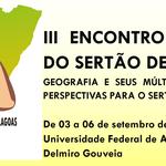 III Encontro de Geografia do Sertão de Alagoas (III EGSA-2017)