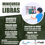 Inscrições abertas para o Minicurso de Libras – Língua Brasileira de Sinais