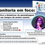 Evento Monitoria 2020.1