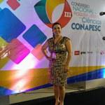 Participação da Professora Ma. Josicleide de Amorim no  III Congresso Nacional de Pesquisa e Ensino em Ciências - CONAPESC