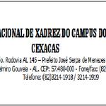 Projeto CEXACAS - Centro Educacional de Xadrez do Campus do Sertão